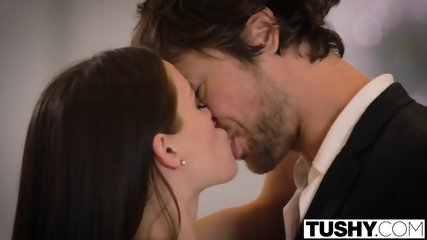 TUSHY Lana Rhoades First Double Penetration - scene 6