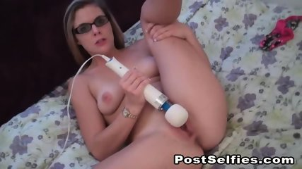 Awesome Hot Babe Fucking Pussy With A Toy