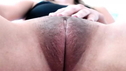 Hot Brunette Playing With Her Wet Pussy On Cam - scene 6