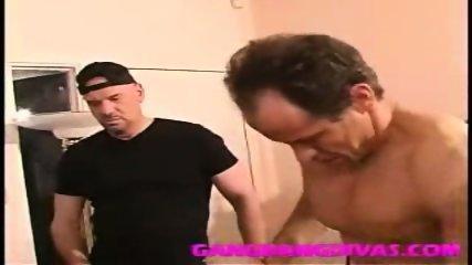 Gapping whore ass fucks many cocks - scene 10