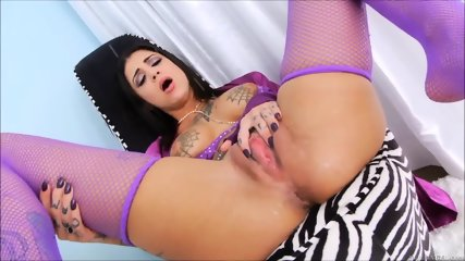 Tattoed Slut Squirt Compilation - scene 6