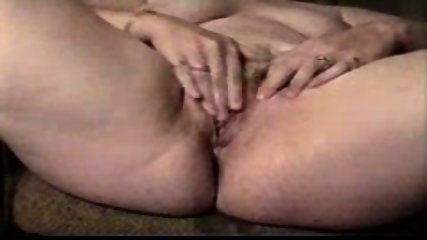 Woman with a very wet pussy masturbating - scene 5