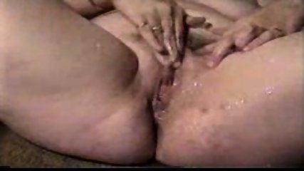 Woman with a very wet pussy masturbating - scene 6
