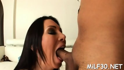 Hot darling loves riding schlong