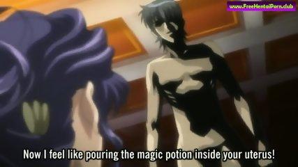 Anime girl fucks her boyfriend hard