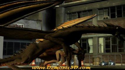 Dragon fucks elf