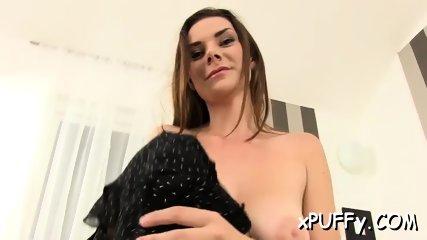 Stimulating a cowgirl s twat