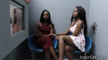 Jezabel Vessir Sarah Banks getting their pussies banged by big white cock