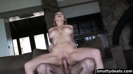 Big Tit Blonde Gets Fucked - scene 6