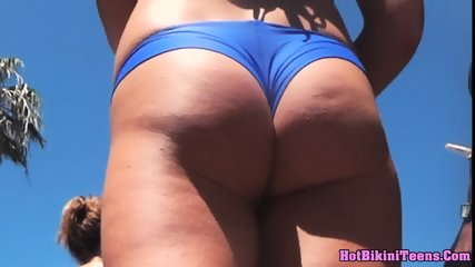 Big Ass Bikini Teen Close Up Voyeur Video - scene 12