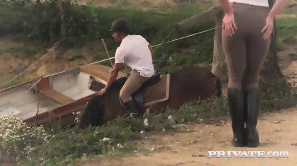 Private.com - Horse Rider Yasmin Scott Rides A Hung Stallion - scene 1