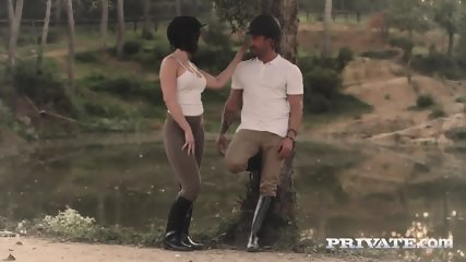 Private.com - Horse Rider Yasmin Scott Rides A Hung Stallion - scene 2