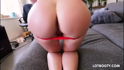 Huge tits and fat ass of sexy brunette milf Angela White