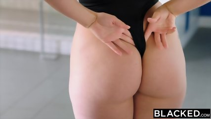 BLACKED Blonde Model Taken By Bbc - scene 1
