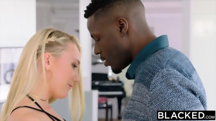 BLACKED Blonde Model Taken By Bbc - scene 2