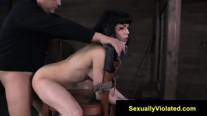 Asphyxiated by cock
