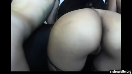 Amazing Asses Lesbian Foursome On Cam