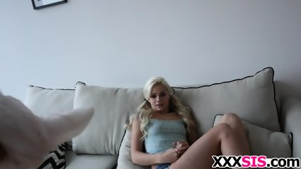 Blonde stepsis Elsa Jean gets drilled