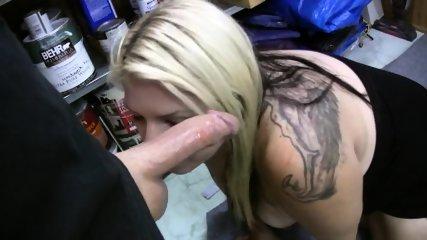 Chubby Slut Sucks Cock For Cash - scene 6