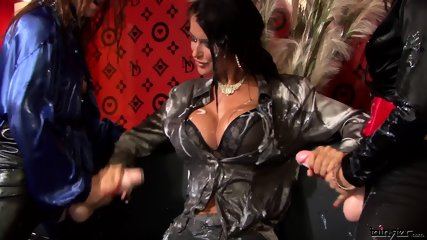 Nessa Devil , Lena Cova And Mischelle Strap-on Lesbos Can Blow Mega Loads Too