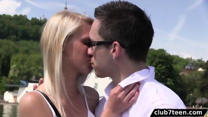 Sara J enjoys sex on a boat