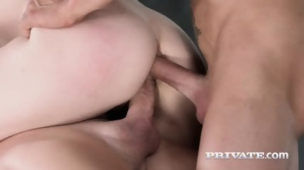 Private.com - Hardcore DP With Lucia Love - scene 11