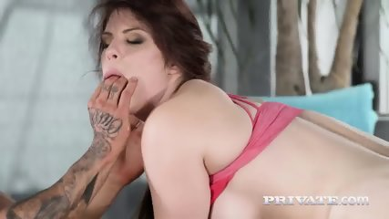 Private.com - Hardcore DP With Lucia Love - scene 7