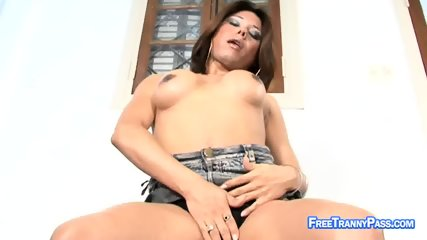 Tranny s Intense Fuck with Mr. Dick