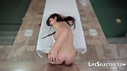 Busty Babe Aida Swinger Wants To Fuck Her Masseur - scene 9