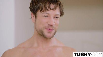 TUSHY Bad Girl Has Hot Anal With Boyfriends Roommate - scene 2