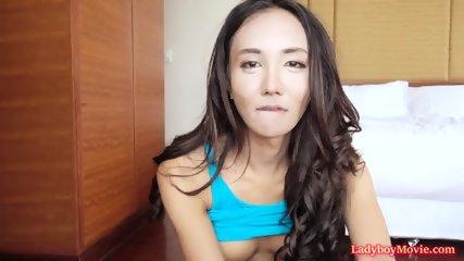 Thai Shemale Arin Fucked Bareback