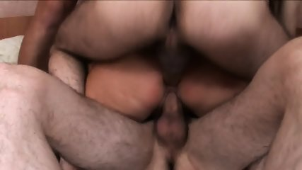 Gang Bang With Russian Granny - scene 11