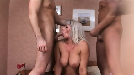 Gang Bang With Russian Granny - scene 6