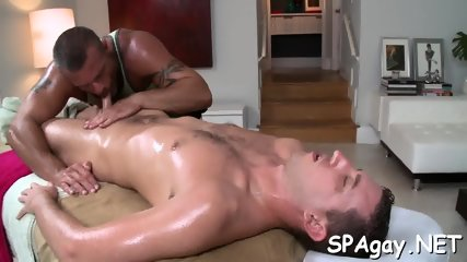 Wild blowjob for gay