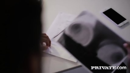 Private.com - Barbara Bieber Puts The Squeeze On Her Boss - scene 3