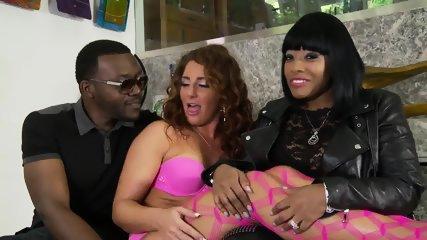 Sexy Ms Foxx Interracial - scene 1