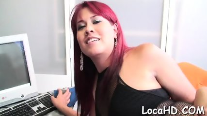 Wet pussy and massive pecker