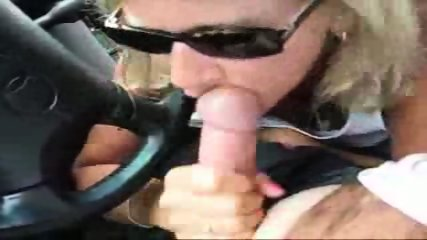 Handjob in the car - scene 7