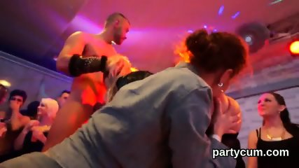 Hot cuties get entirely crazy and naked at hardcore party