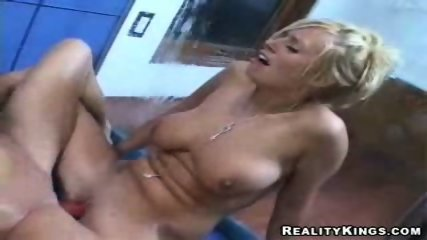 2 tight blonde lesbo kissing and licking and toying - scene 12