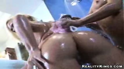 2 tight blonde lesbo kissing and licking and toying - scene 6