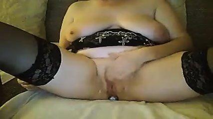 Granny Masturbates
