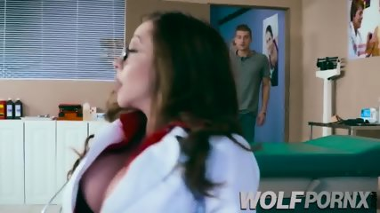 Fucking with my doctor Ariella Ferrera, she has very big tits