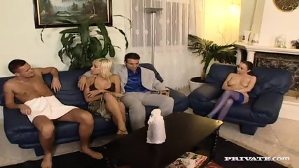 Jessica And Britnee Have A DP Orgy - scene 2