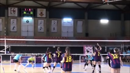 barcelona tight shorts volleyball - scene 11