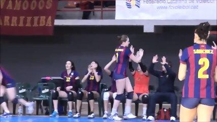 barcelona tight shorts volleyball - scene 1