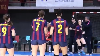 barcelona tight shorts volleyball - scene 2
