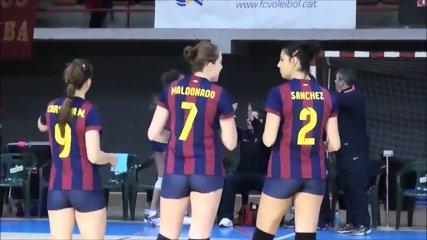 barcelona tight shorts volleyball - scene 3