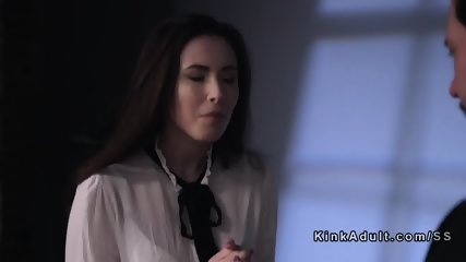 Paroled criminal punishes Mormon babe - scene 1