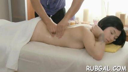 Amateur bitch rides on a hard rod - scene 3